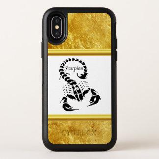 Poisonous scorpion very venomous insect OtterBox symmetry iPhone x case