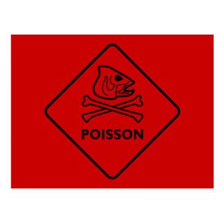 Poisson Postcard