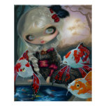 Poissons Volants Le Bassin des Carpes ART PRINT
