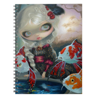 """Poissons Volants: Le Bassin des Carpes"" Notebook"