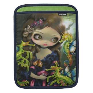 """Poissons Volants: L'Hippocampe"" iPad Sleeve"