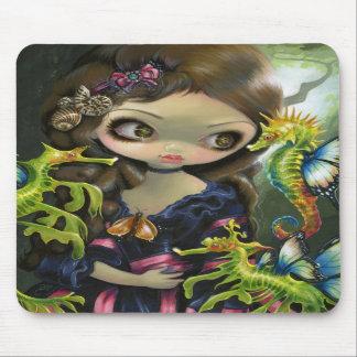 """""""Poissons Volants: L'Hippocampe"""" Mousepad"""