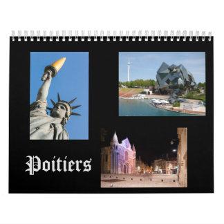 Poitiers, Francia, calendario