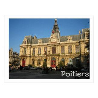 Poitiers Postcard
