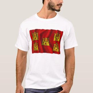 Poitou-Charentes waving flag T-Shirt