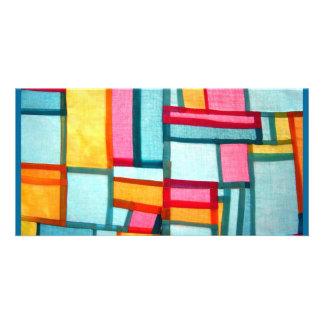 Pojagi Textile Photo Greeting Card