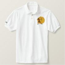 PokCr R Embroidered Polo Shirt