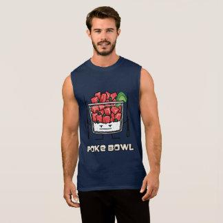Poke bowl Hawaii raw fish salad chopsticks aku Sleeveless Shirt