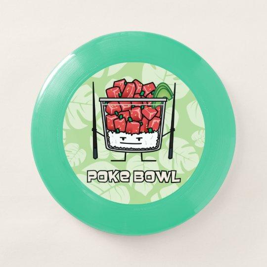19cbc33960c Poke bowl Hawaii raw fish salad chopsticks aku Wham-O Frisbee ...