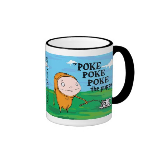 Poke, Poke, Poke the Puppy Mug