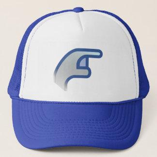 poke trucker hat