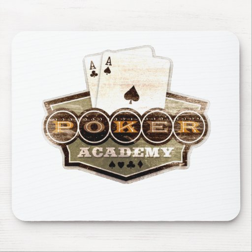 Poker Academy Mouse Pad