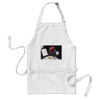 Poker ace bet good hand adult apron