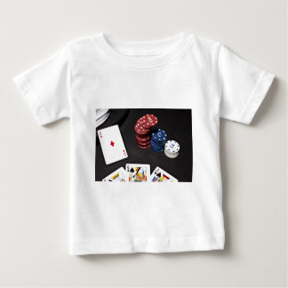 Poker ace bet good hand baby T-Shirt