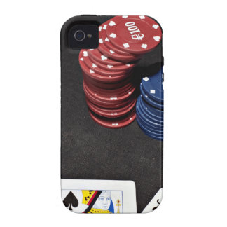 Poker ace bet good hand iPhone 4/4S case