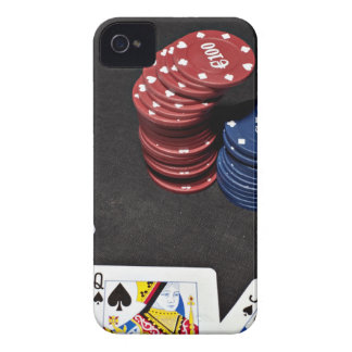 Poker ace bet good hand iPhone 4 cases