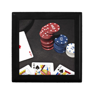 Poker ace bet good hand gift box