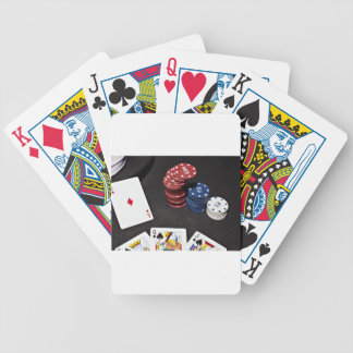 Poker ace bet good hand bicycle playing cards