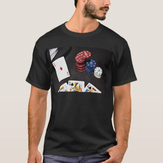 Poker ace bet good hand T-Shirt