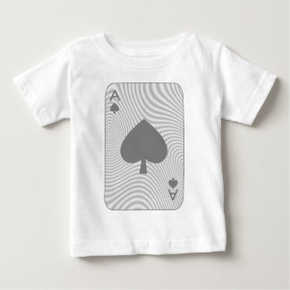 Poker Ace of Spades Baby T-Shirt