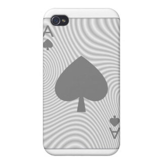 Poker Ace of Spades iPhone 4/4S Case