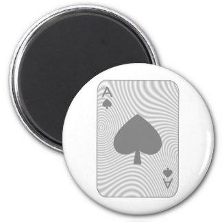 Poker Ace of Spades Magnet