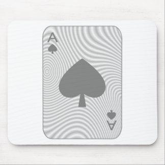 Poker Ace of Spades Mousepad