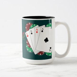 Poker Ace Playing Cards Mug