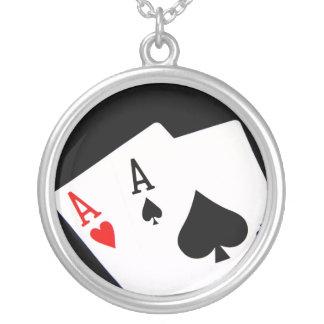 Poker Aces Necklace