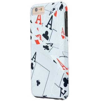 Poker,_Aces,_Tough iPhone 6/6s Plus Case