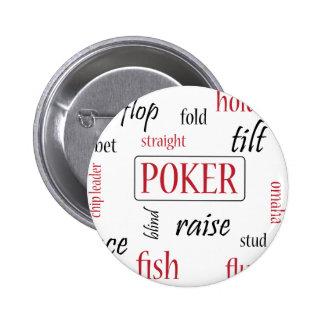Poker Addict 2 Inch Round Button