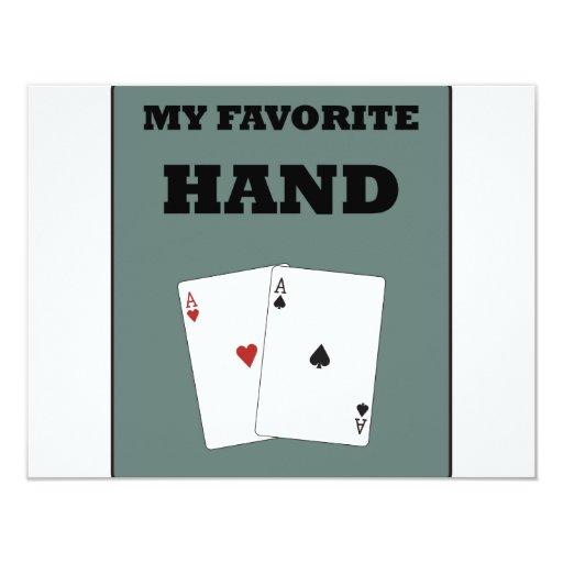 Poker Addict Personalized Invite
