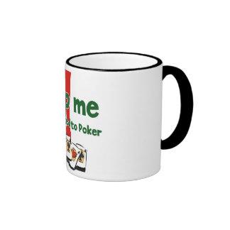 Poker Addict's ringer mug
