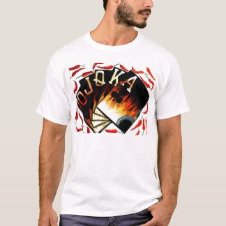 Poker Art Fan Shaped Hot Peppers Royal Flush T-Shirt