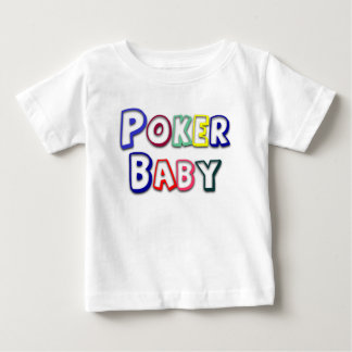 Poker Baby T-shirt or Logo 4 any infant or toddler