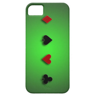 poker background casino cards clubs hearts spades iPhone 5 case