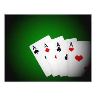 Poker Background Flyer