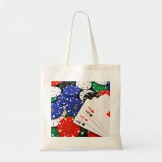 Poker Canvas Bag