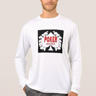 Poker Born in the USA Tee Shirt