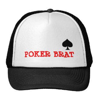 POKER BRAT TRUCKER HAT