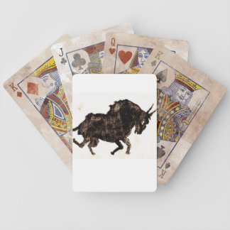 Poker bull cards bicycle playing cards