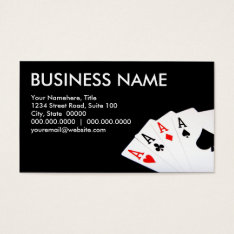 Poker Business Cards at Zazzle