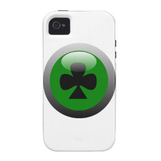 Poker Button - Club iPhone 4/4S Cases