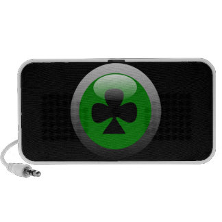 Poker Button - Club iPod Speakers