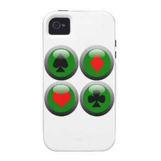 Poker Button Set Case-Mate iPhone 4 Case