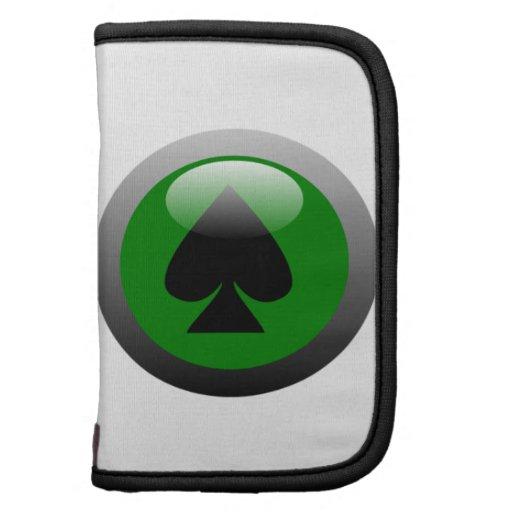 Poker Button - Spade Folio Planner