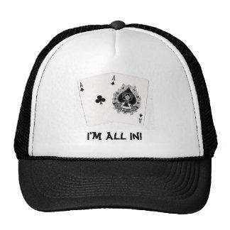Poker Cap Trucker Hat