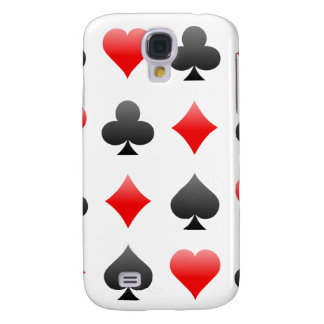 Poker Card Suits: Vector Art: iPhone 3G Case