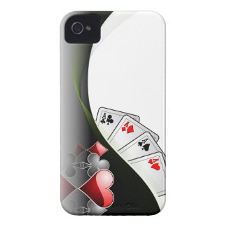 Poker cards and casino symbols Case-Mate iPhone 4 case