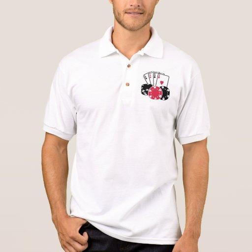 Poker polo shirts
